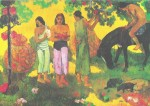 Rupe Rupe (Obsternte) by Paul Gauguin